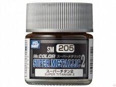 Mr.Hobby - SM-205 Super Titanium II, 10ml