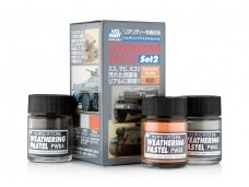 Mr.Hobby - Weathering Pastel Set 2, PP-102