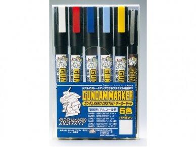 Mr.Hobby - Gundam Seed Destiny Set markerių komplektas, GMS-114