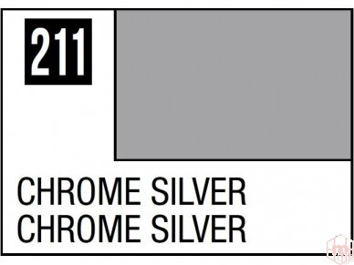 Mr.Hobby - MC-211 Chrome Silver, 10ml