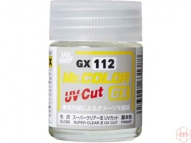 Mr.Hobby - Super Clear III UV Cut lakas, 18 ml, GX-112
