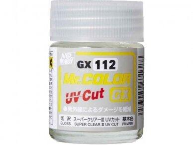 Mr.Hobby - Super Clear III UV Cut Gloss, 18 ml, GX-112