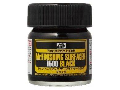 Mr.Hobby - Mr. Finishing Surfacer gruntas 1500 juodas, 40 ml, SF-288
