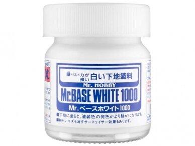 Mr.Hobby - Mr Base White 1000 (gruntas) 40ml, SF-283