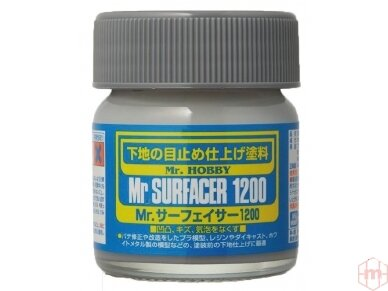 Mr.Hobby - Mr. Surfacer 1200 gruntas, 40 ml, SF-286