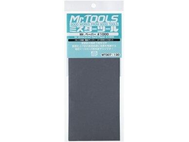 Mr.Hobby - Mr. Waterproof Sand Paper #1000 x 4 Sheets, MT-307