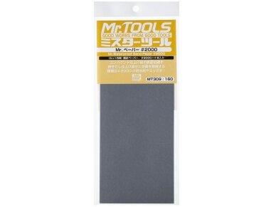 Mr.Hobby - Mr. Waterproof Sand Paper #2000 x 4 Sheets, MT-309