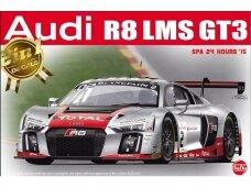 NuNu - Audi R8 LMS GT3 SPA 24 Hours'15, Scale: 1/24. 24004