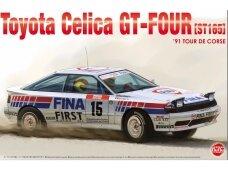 NuNu - Toyota Celica GT-FOUR ST165. 1991 Tour de Corse, Mastelis: 1/24. 24015