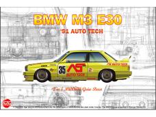 NuNu - BMW M3 E30 Group A 1991 Auto Tech, Scale: 1/24. 24014