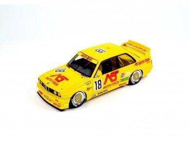 NuNu - BMW M3 E30 Group A 1991 Auto Tech, Mastelis: 1/24. 24014 2