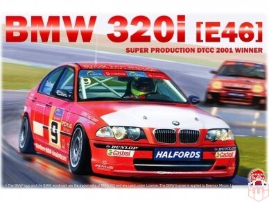 NuNu - BMW 320i E46 DTCC 2001 Winner, Mastelis: 1/24. 24007