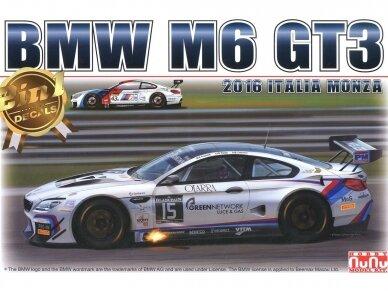NuNu - BMW M6 GT3 2016 Italia Monza, Scale: 1/24. 24003