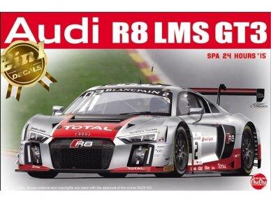 NuNu - Audi R8 LMS GT3 SPA 24 Hours'15, Mastelis: 1/24. 24004