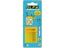 OLFA - KB gelėžtės dėtuvėje 25 vnt.