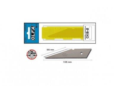 OLFA - Standard-duty blades, CKB2