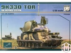 Panda Models - Air Defense System 9K330 Tor with Metal Tracks, 1/35, 35008