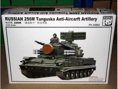 Panda Models - Russian 2S6M Tunguska Anti Aircraft Artillery, Mastelis: 1/35, 35002