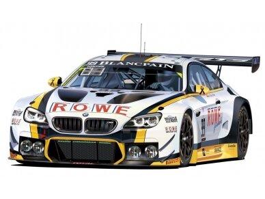 NuNu - BMW M6 GT3 24H SPA 2016 nugalėtojas, Mastelis: 1/24, 24001