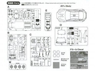 NuNu - BMW M6 GT3 Falken Motorsports #33, Mastelis: 1/24. 24002 17
