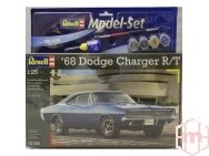 Revell - 1968 Dodge Charger Gift set, Scale: 1/24, 67188