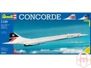 "Revell - Concorde ""British Airways"", Mastelis: 1/144, 04257"