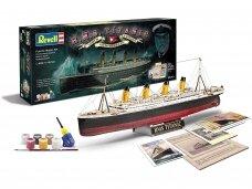 Revell - 100 Years Titanic (Spec.Edition) dovanų komplektas, 1/400, 05715