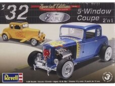 Revell - 1932 Ford 5 Window Coupe 2n1, 1/25, 14228