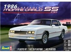 Revell - `86 Chevy® Monte Carlo™ SS™ 2'n 1, Scale: 1/24, 14496