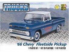 Revell - 1966 Chevy Fleetside Pickup, Mastelis: 1/25, 17225