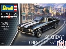 Revell - 1968 Chevy Chevelle, Scale: 1/25, 07662