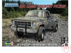 Revell - 1978 GMC Big Game Country Pickup, Mastelis: 1/24, 17226