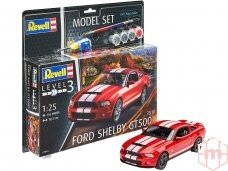 Revell - 2010 Ford Shelby GT 500 Model Set, Scale: 1/25, 67044