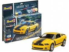 Revell - 2013 Ford Mustang Boss 302 Model Set, 1/25, 67652