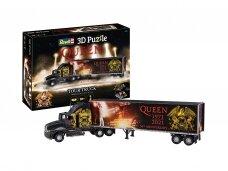 Revell - 3D Dėlionė QUEEN Tour Truck - 50th Anniversary, 00230