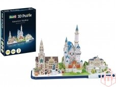 Revell - 3D Puzzle Bavarian Skyline, 00143