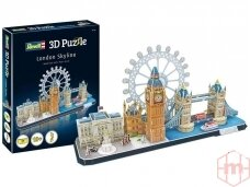 Revell - 3D Puzzle London Skyline, 00140
