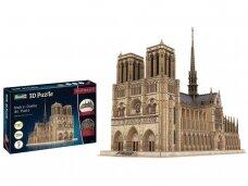 Revell - 3D Puzzle Notre Dame de Paris, 00190