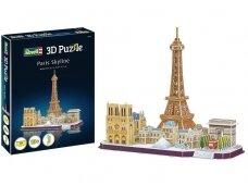 Revell - 3D Dėlionė Paris Skyline, 00141