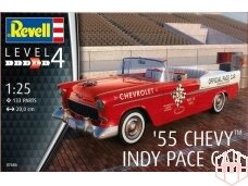 Revell - '55 Chevy Indy Pace Car, Mastelis: 1/25, 07686
