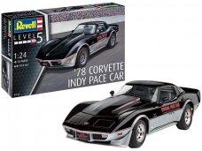 Revell - '78 Corvette Indy Pace Car, Mastelis: 1/24, 07646