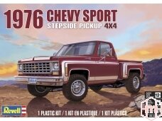 Revell - 1976 Chevy Sport Stepside Pickup 4X4, Scale: 1/24, 14486