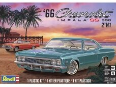 Revell - '66 Chevy® Impala™ SS™ 396 2'N1, Scale: 1/25, 14497