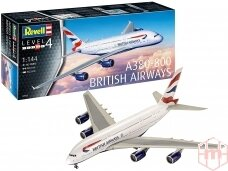 Revell - A380-800 British Airways, Scale: 1/144, 03922