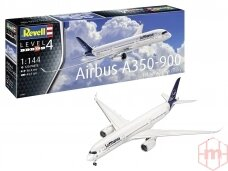 Revell - Airbus A350-900 Lufthansa New Livery, Mastelis: 1/144, 03881