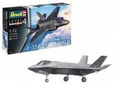 Revell - F-35A Lightning II, Scale: 1/72, 03868