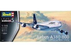 Revell - Airbus A380-800 Lufthansa New Livery, Mastelis: 1/144, 03872