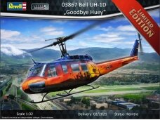 Revell - Bell UH-1D `Good Bye Huey`, Scale: 1/32, 03867