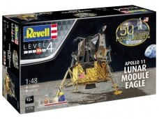 Revell - Apollo 11 Lunar Module Eagle Model Set, Scale: 1/48, 03701
