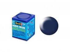 Revell - Aqua Color, Dark Blue, Silk, 18ml, 350